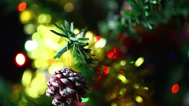 Christmas Decor And Celebration : Stock Video
