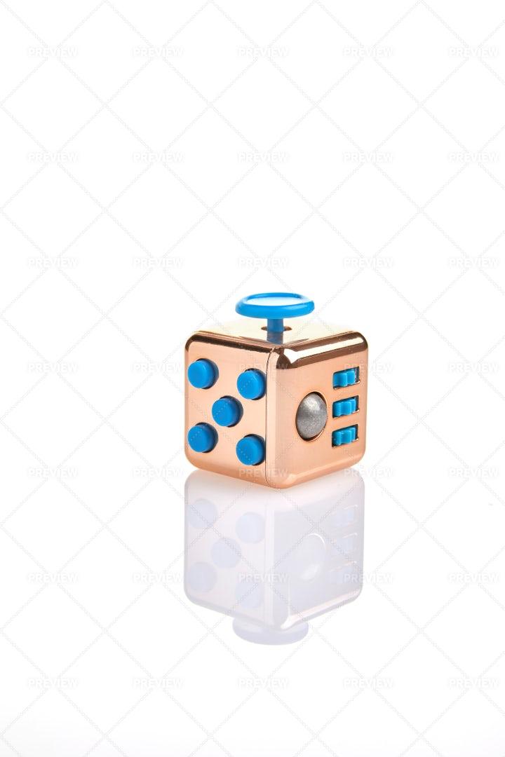ABS Fidget Cube: Stock Photos