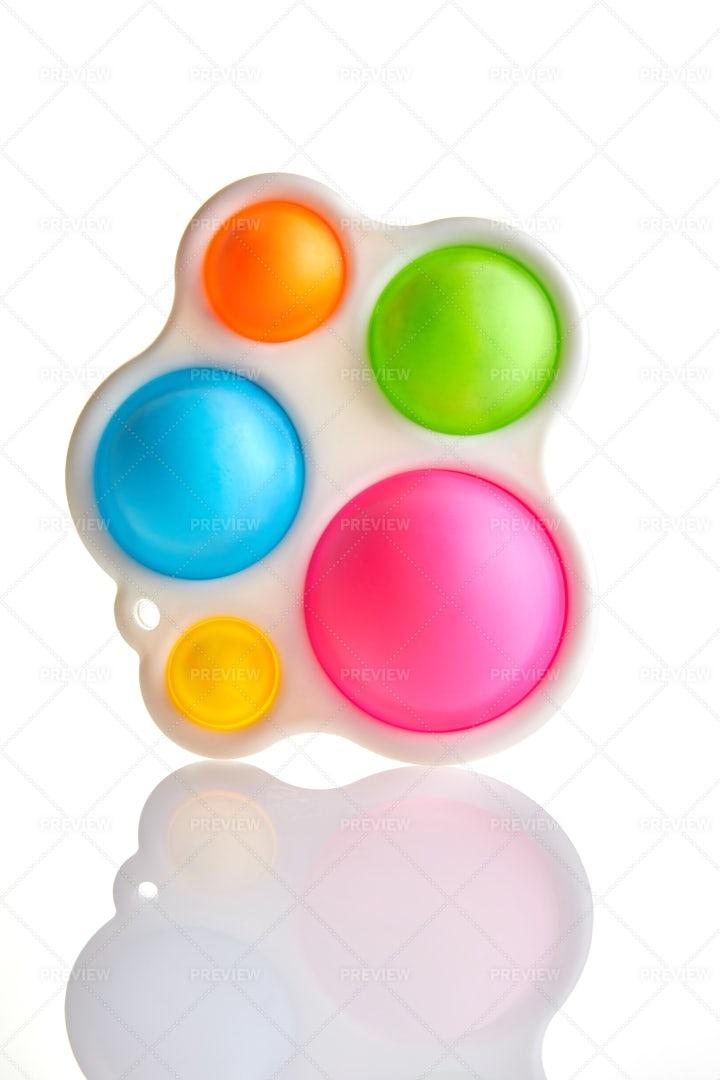 Colorful Fidget Toy: Stock Photos