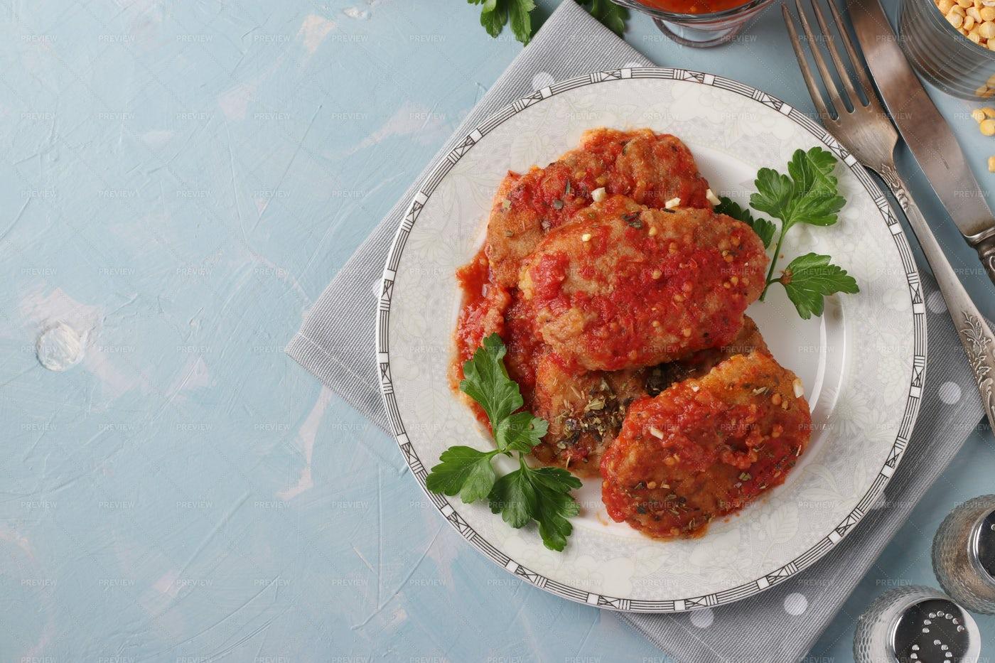Vegetarian Cutlets: Stock Photos
