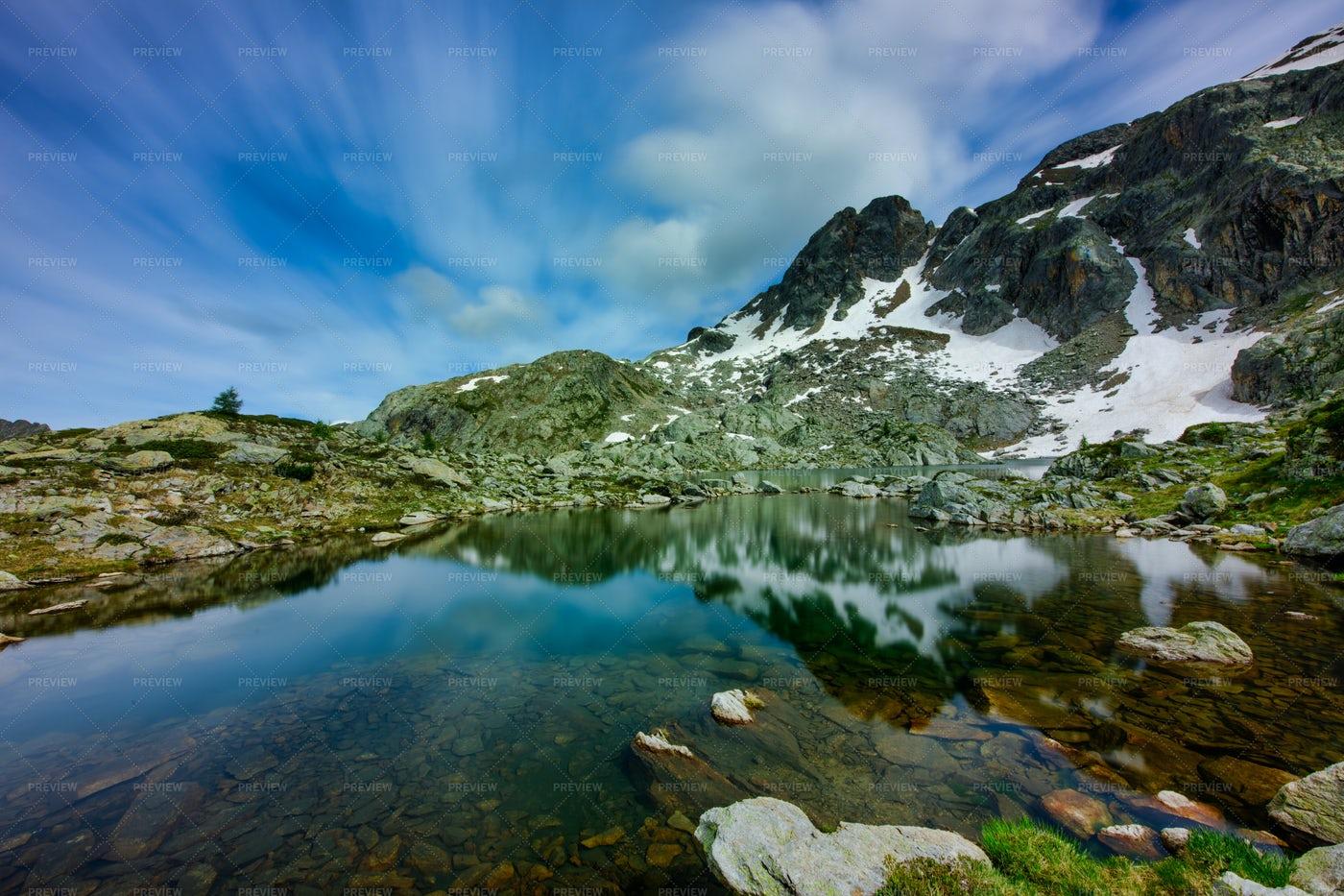 Lake Of Cabianca: Stock Photos