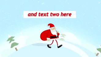 Santa Walk: After Effects Templates