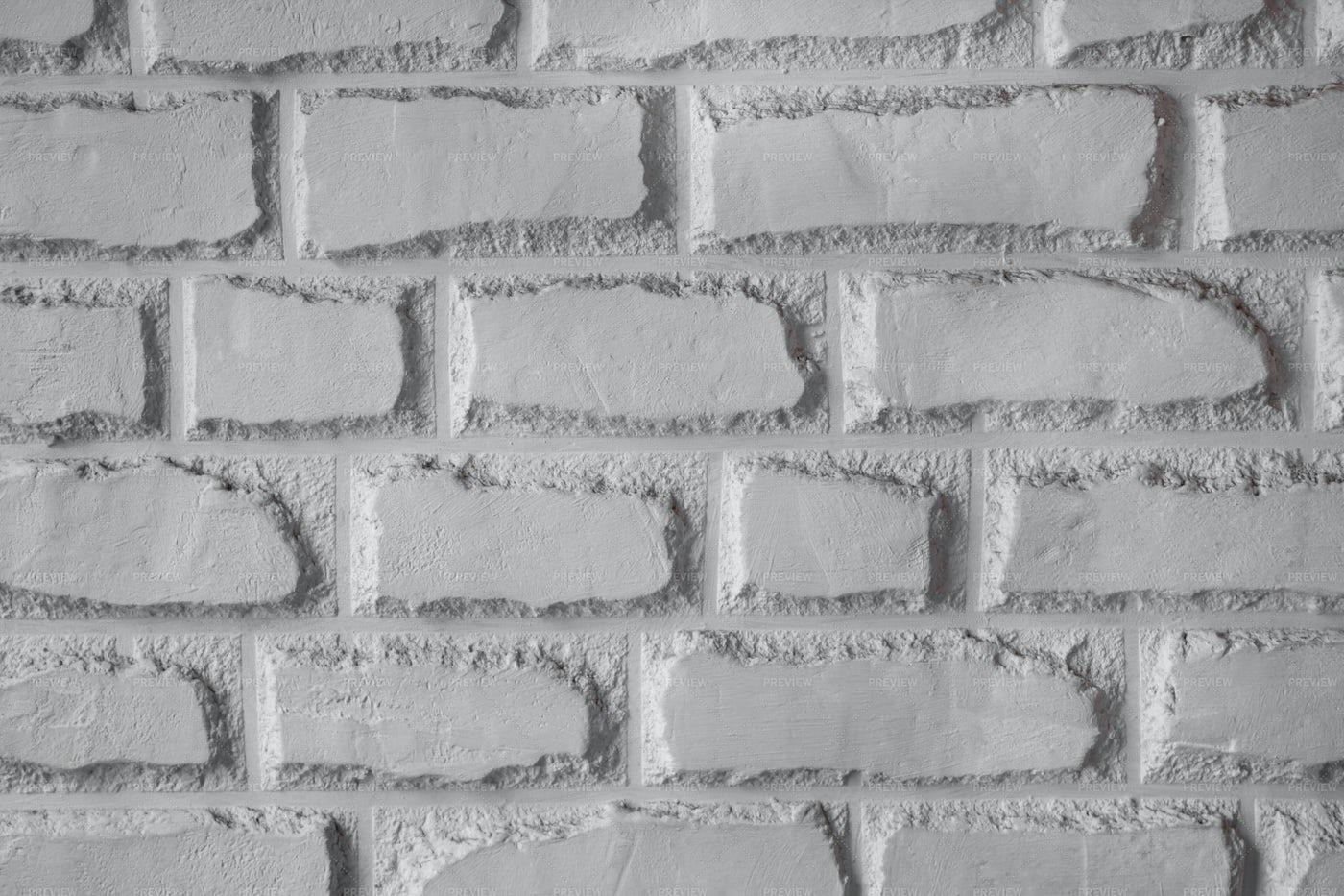 White Brick Wall Background: Stock Photos