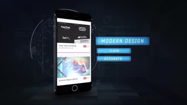 Phone 6 App Promo: After Effects Templates