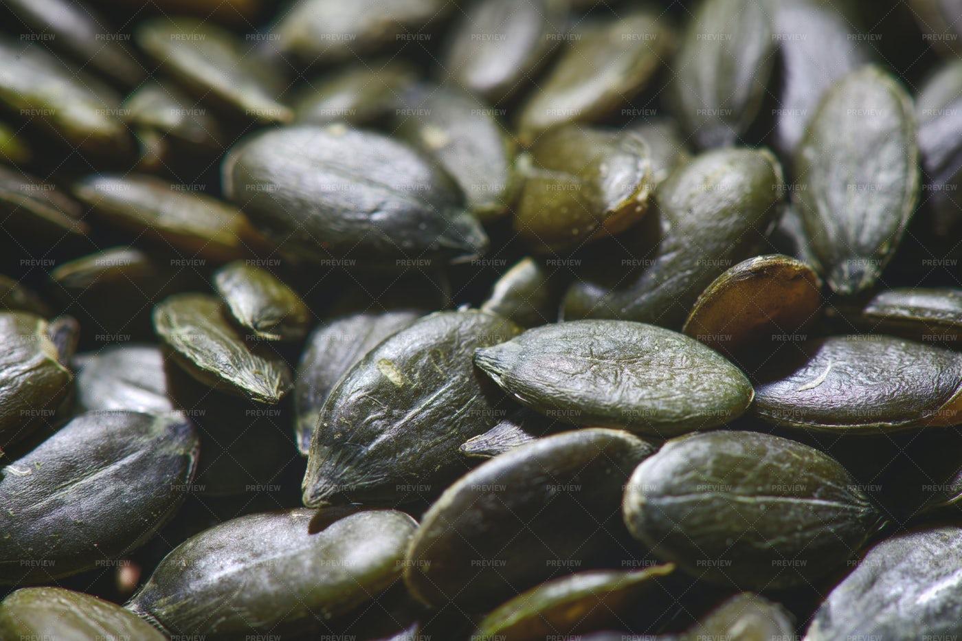 Pumpkin Seeds: Stock Photos