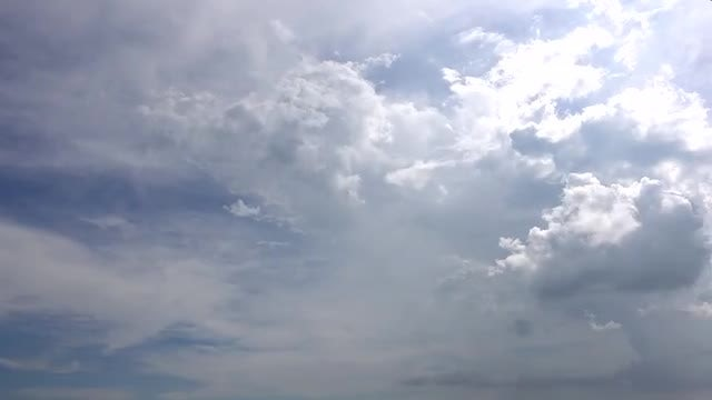 Time Lapse Of Heavenly Clouds : Stock Video