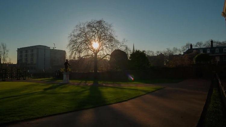 Kensington Palace and Gardens: Stock Video