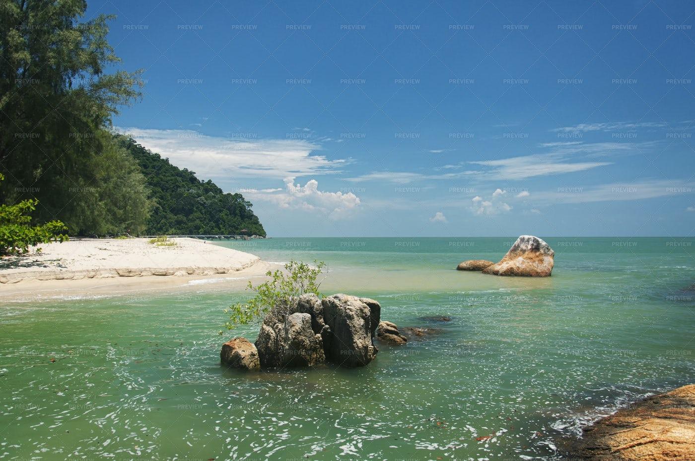 Penang National Park Straits Of Malacca: Stock Photos