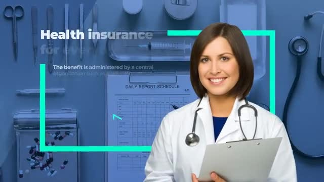 Medical Insurance Agency Promo: After Effects Templates