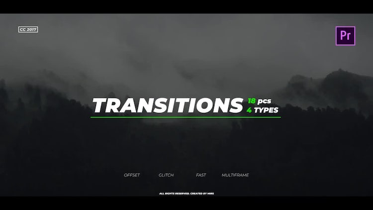 Transitions Pack: Premiere Pro Templates