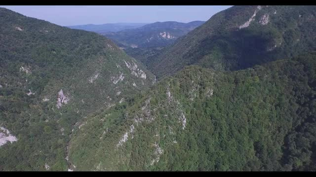 Aerial Shot Of White Mountains: Stock Video