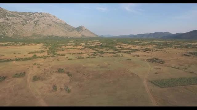 Aerial View Of The Country Side: Stock Video