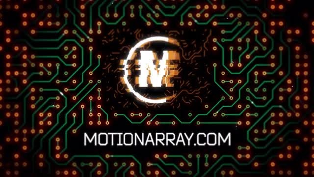 Circuit Logo Reveal: After Effects Templates