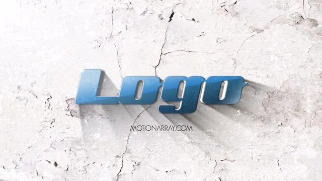 Light Grunge Logo: After Effects Templates
