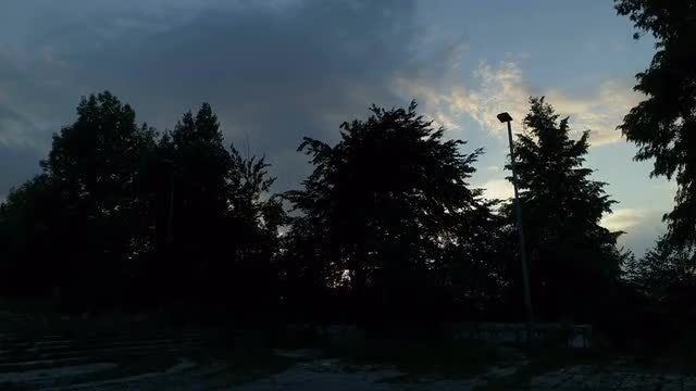 Sunset Over City Of Sarajevo: Stock Video