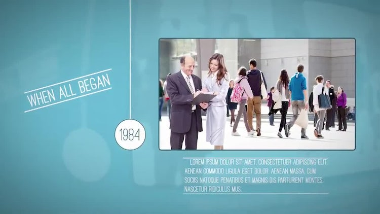 Timeline Business: After Effects Templates
