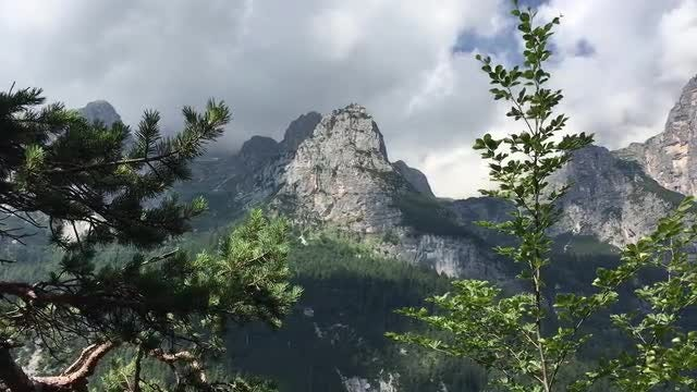 Mountain Landscape: Stock Video