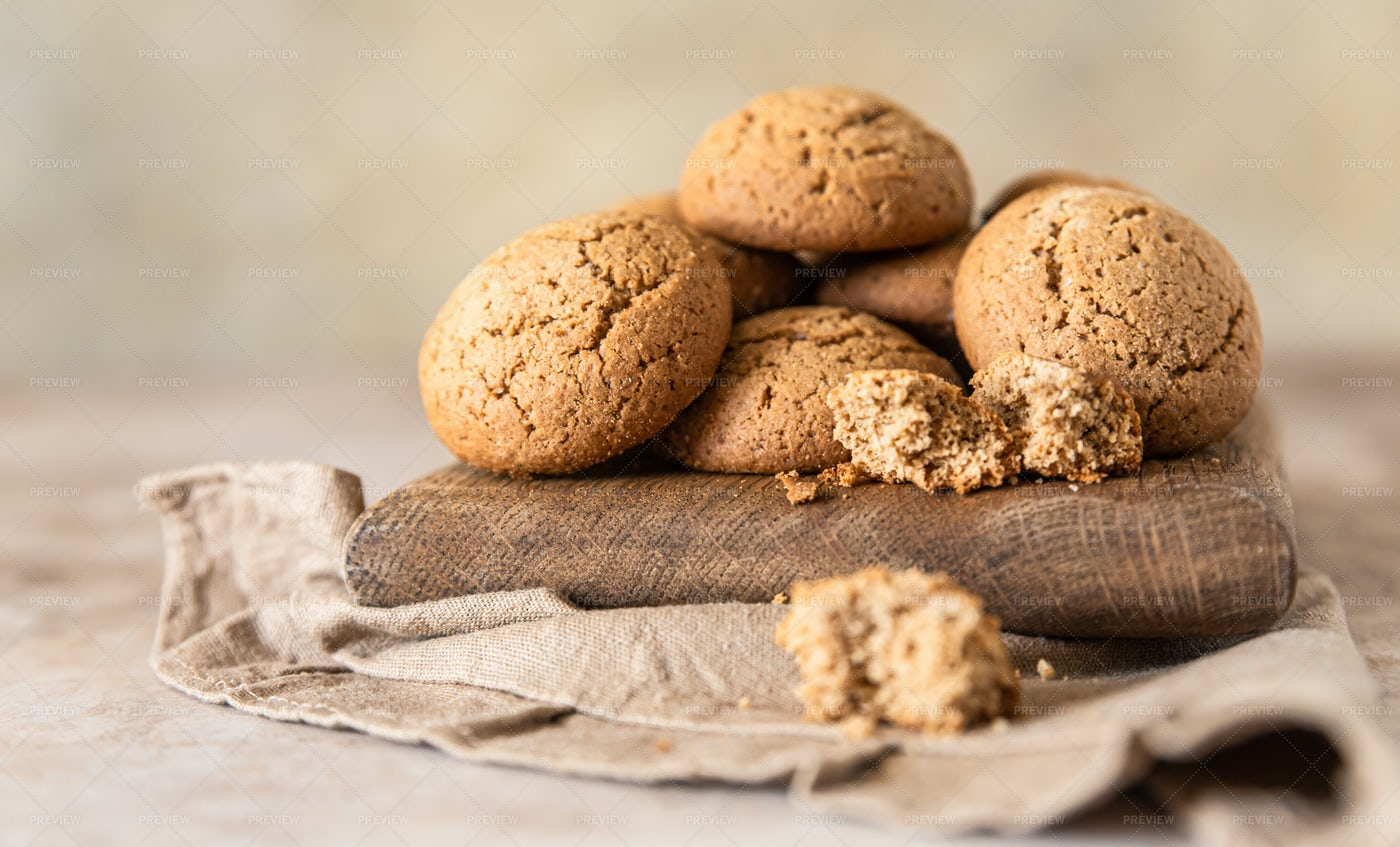 Oatmeal Cookies: Stock Photos