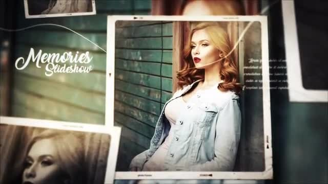 Photo Video Gallery Slideshow: After Effects Templates