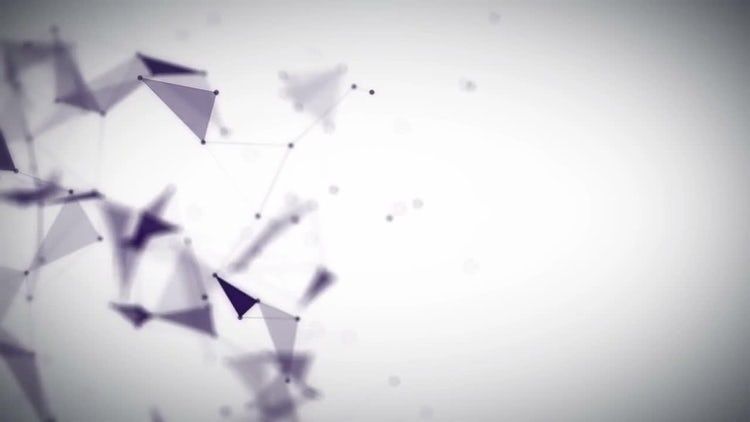 Abstract Futuristic Plexus Background: Motion Graphics