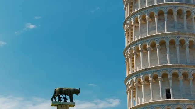Leaning Tower Of Pisa: Stock Video