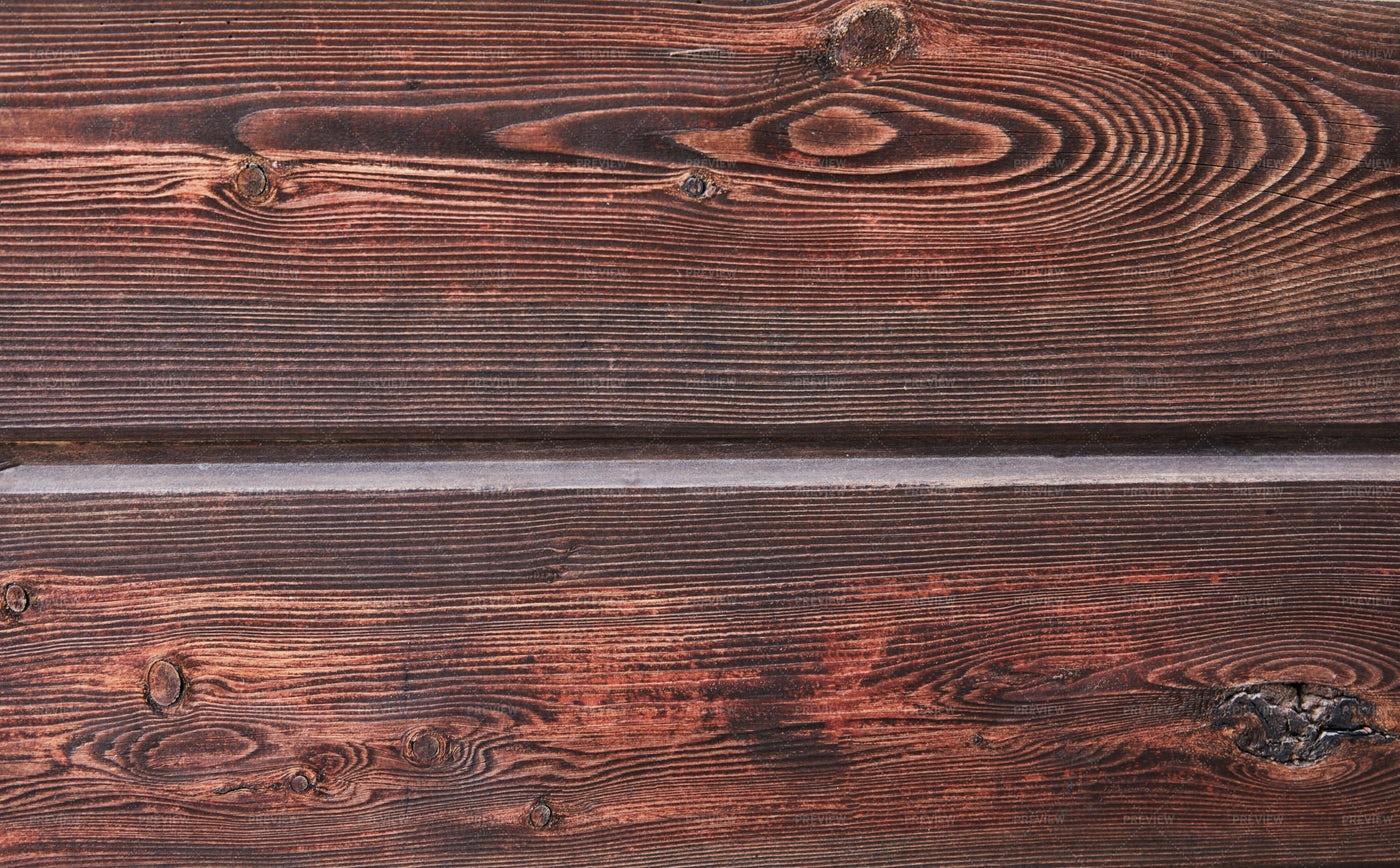 Texture Of Natural Mahogany Wood: Stock Photos