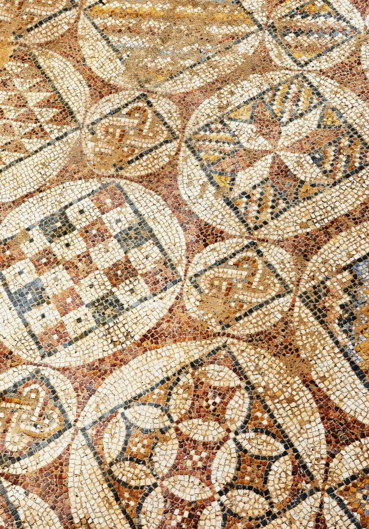 Texture Of The Mosaic: Stock Photos