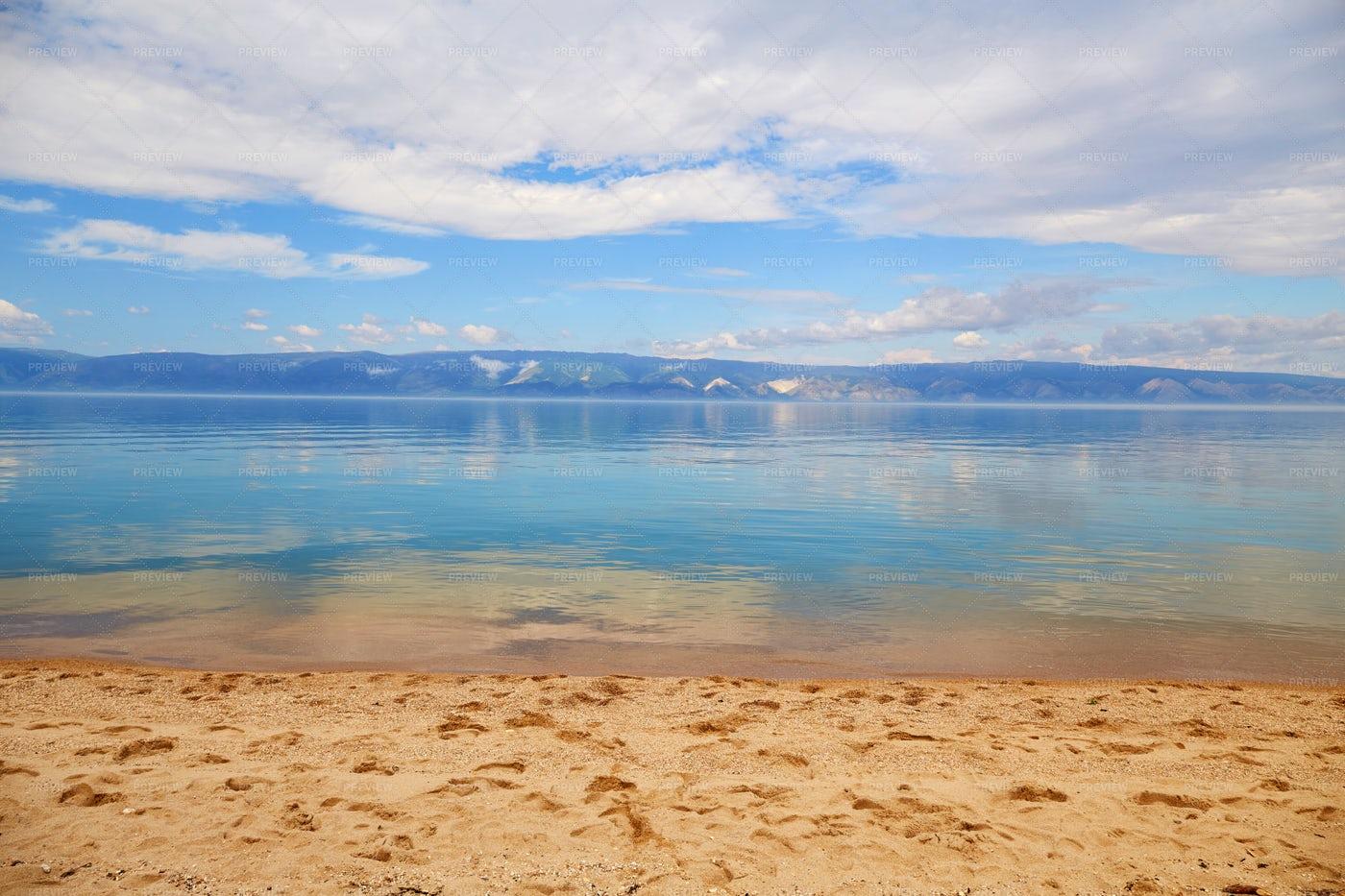 Calm Beautiful Lake: Stock Photos