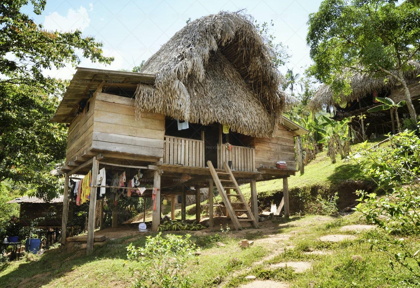 Native Indian Home: Stock Photos