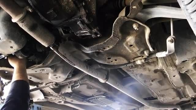 Mechanic Repairing A Car: Stock Video