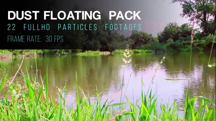 Dust Floating Pack: Motion Graphics