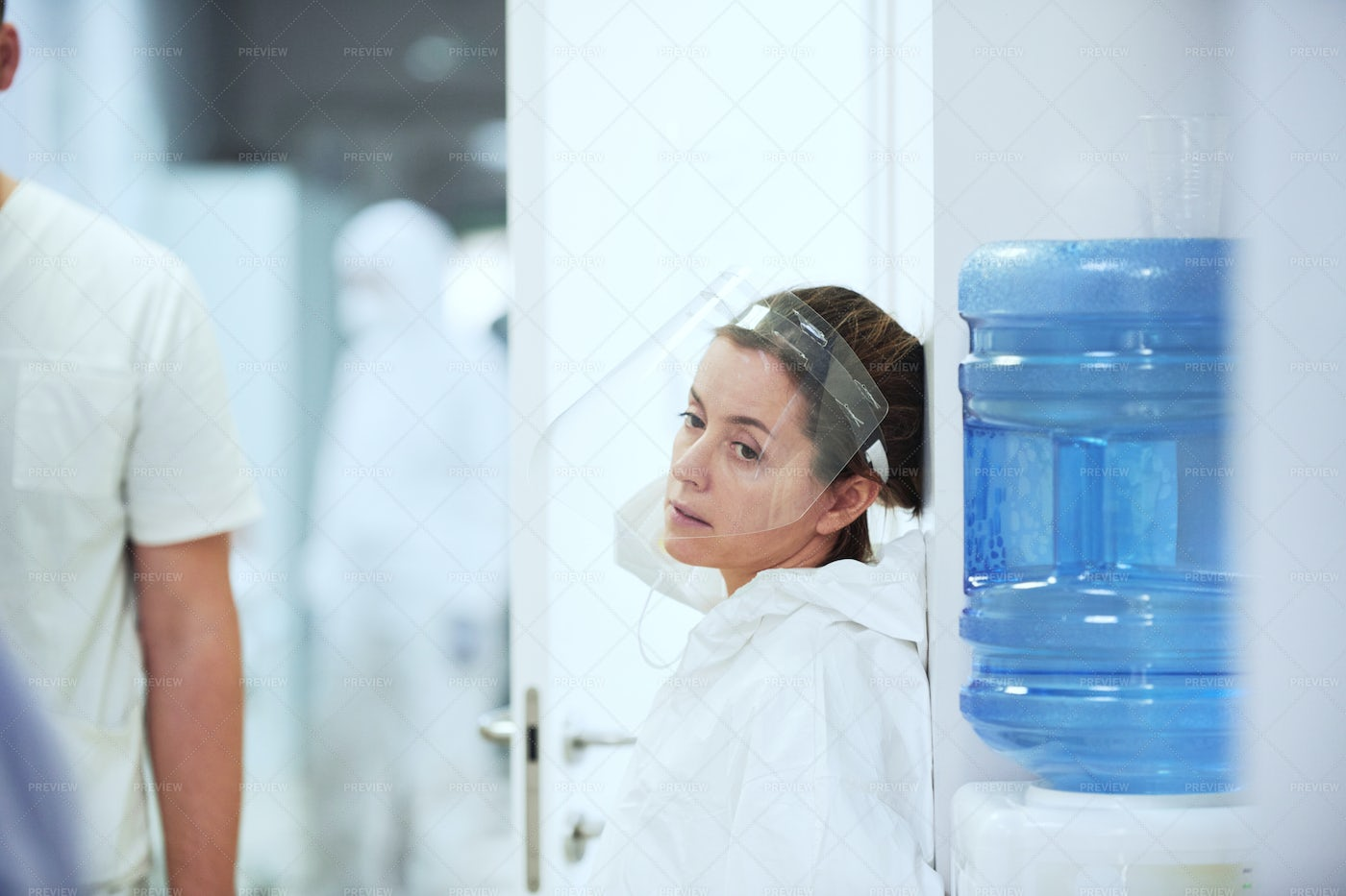 Doctor With Protective Equipment: Stock Photos