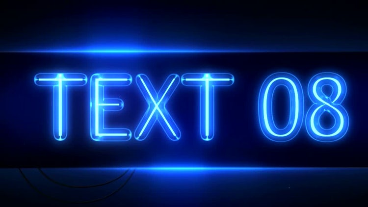 Neon Signs: After Effects Templates