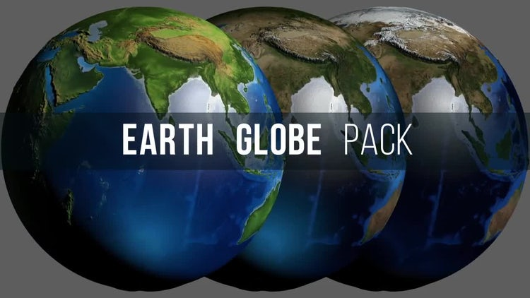 Globe Earth Pack: Motion Graphics