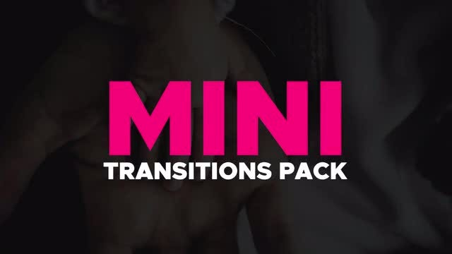 Mini Transitions Pack: Premiere Pro Templates